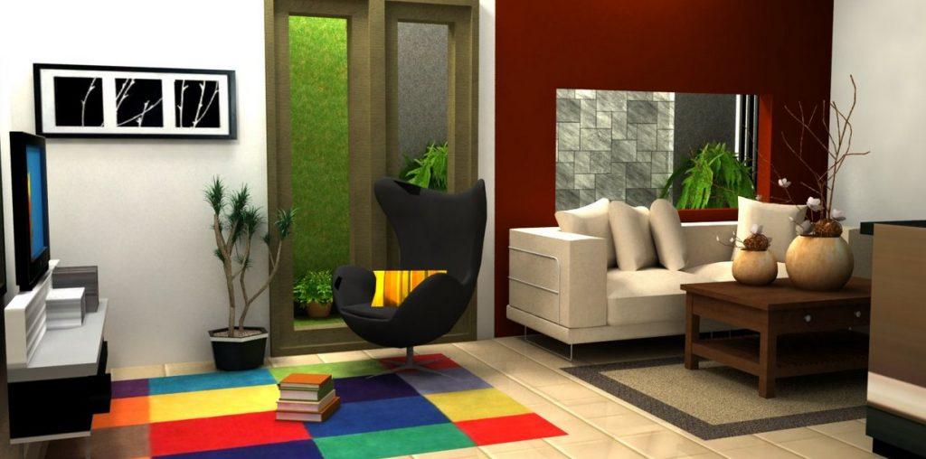 Desain Ruang Tamu Rumah Type 36  contoh desain ruang keluarga di rumah minimalis yang nyaman