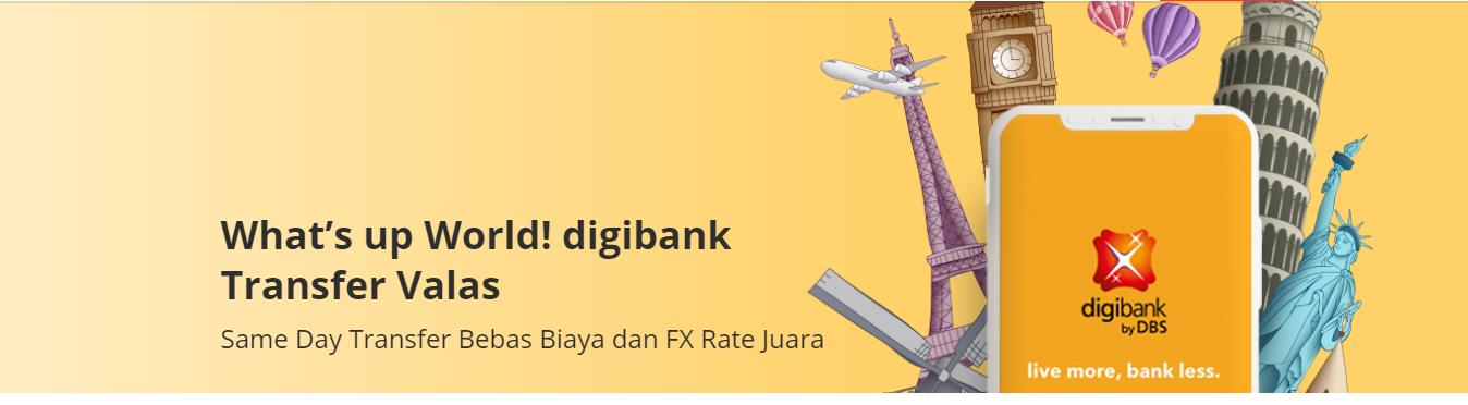 Dapatkan Keuntungan Menyeluruh dari Produk Transfer Valas Digibank
